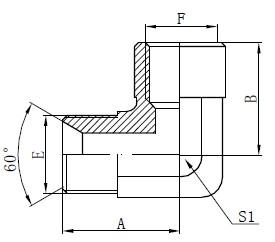 Elmboog BSP Adapter Toebehore Tekening