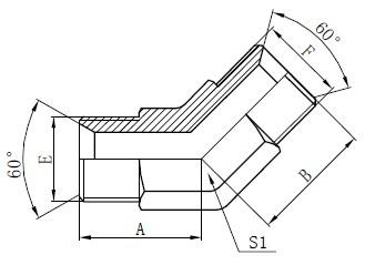 Industriële Tube Toebehore Tekening