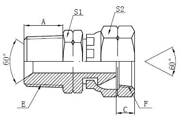 NPSM Adapter Toebehore Tekening